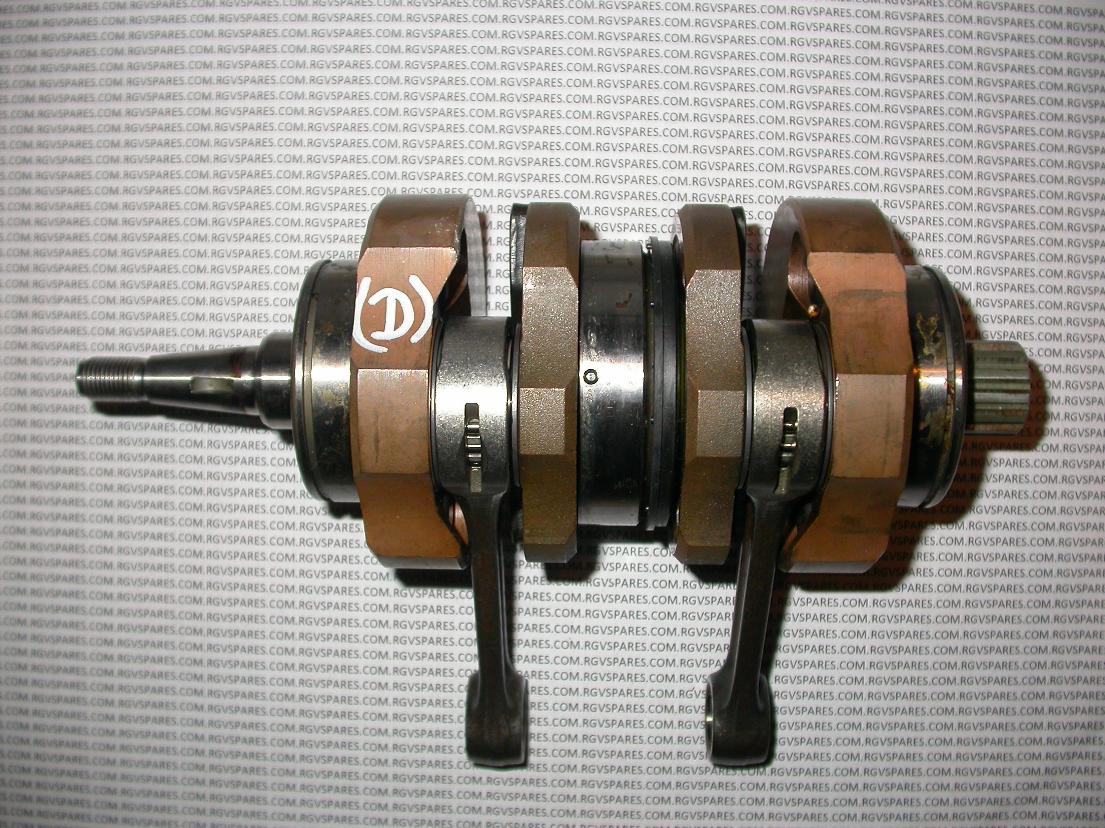 Crankshaft 5KE 2000 ->